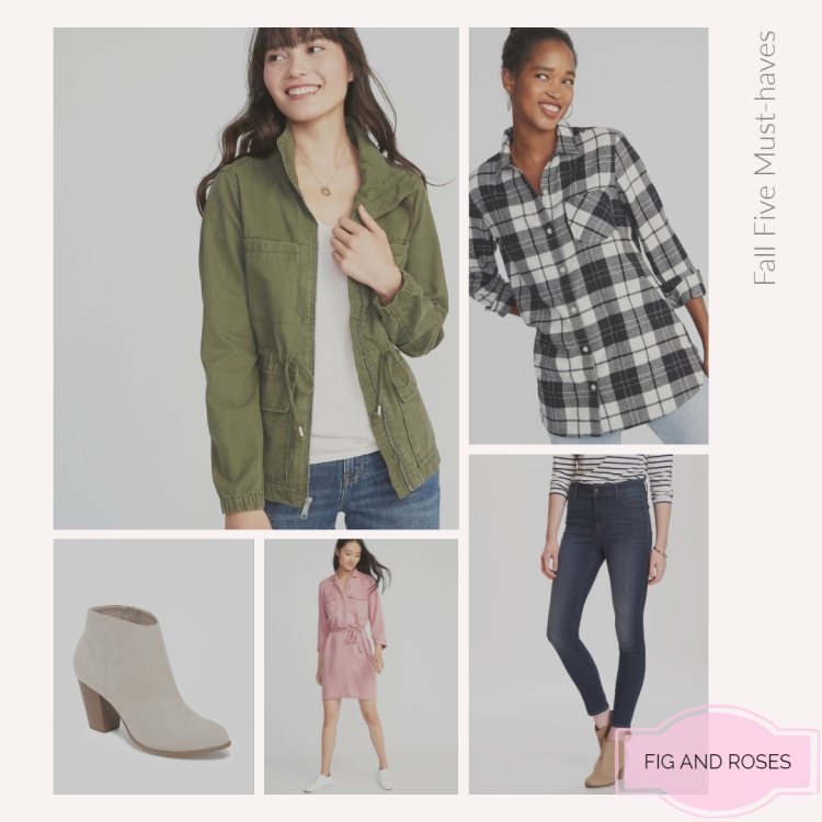 Fall Five Must-haves